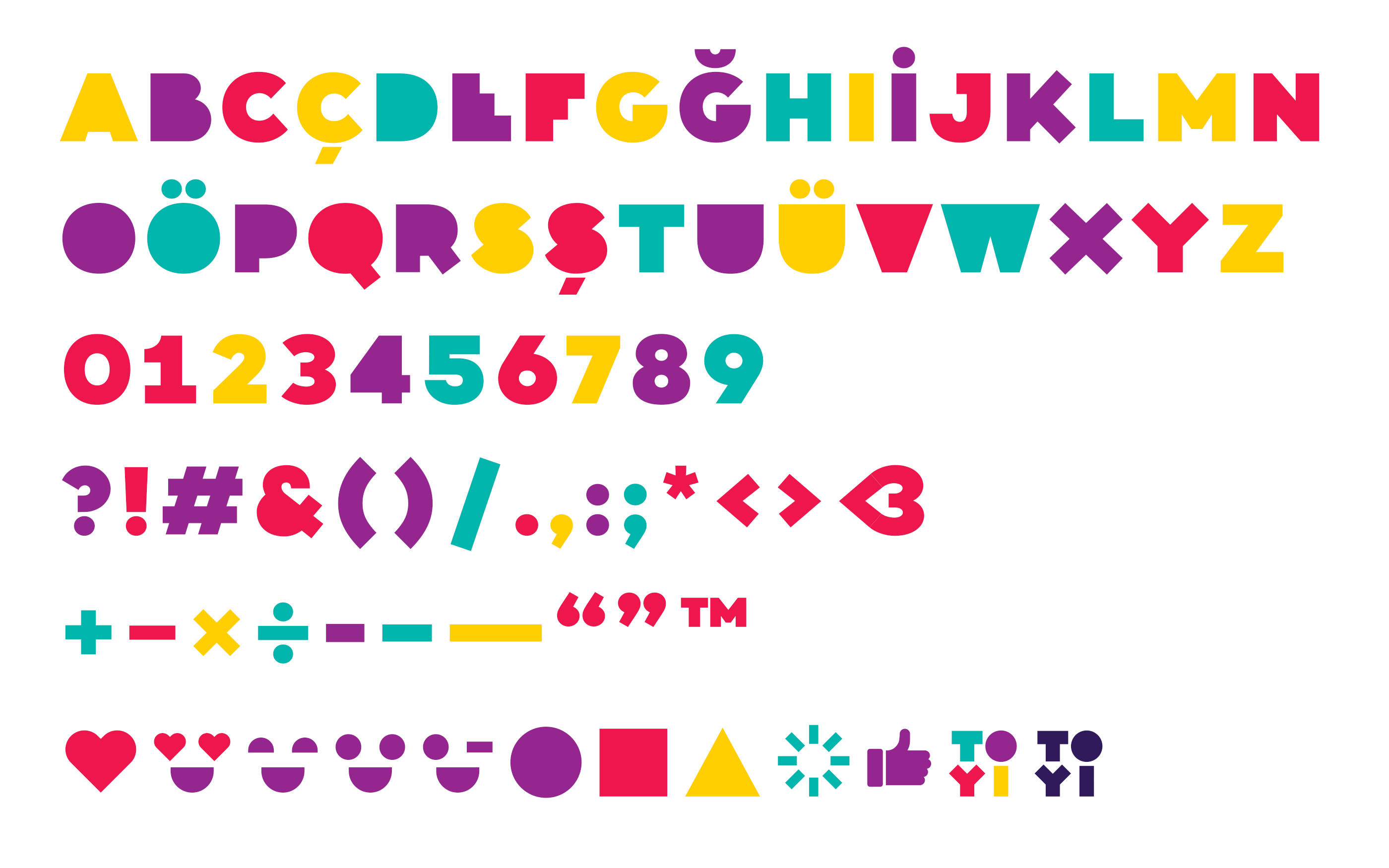 Toyi_Font_Characters